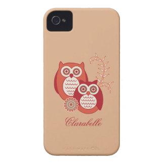 Retro Owls Case-Mate ID iPhone 4 Cover