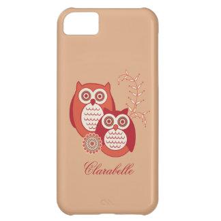 Retro Owls iPhone 5C Case