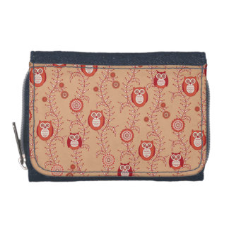 Retro Owls Wallet