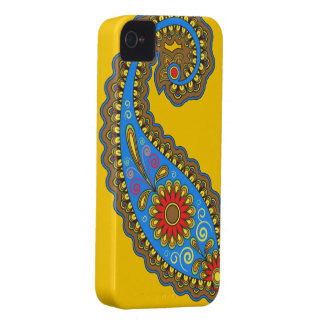 Retro Paisley iPhone 4 Case-Mate Case