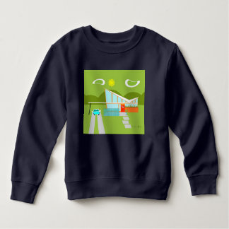 Retro Palm Springs House Sweatshirt