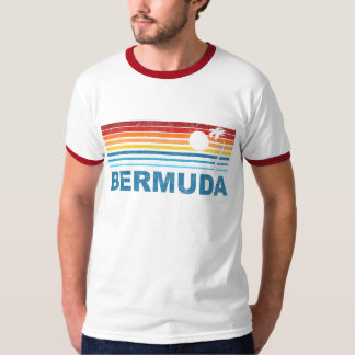 Retro Palm Tree Bermuda T-Shirt