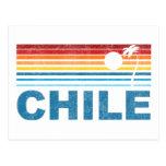 Retro Palm Tree Chile Post Cards
