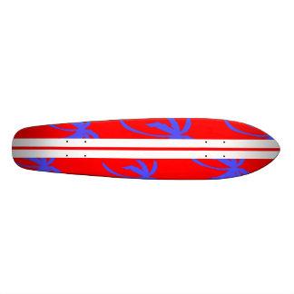 Retro Palms - Red and Purple Skate Board Decks