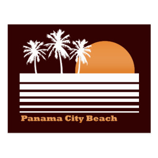 Retro Panama City Beach Postcard