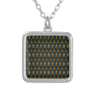 Retro Paper Clip Pattern Custom Jewelry