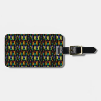Retro Paper Clip Pattern Tag For Bags