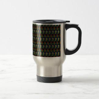 Retro Paper Clip Pattern Mugs
