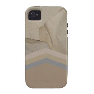 Retro Paper Effect iPhone 4/4S Cases