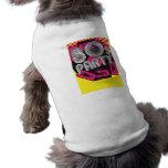 Retro Party Background Dog Shirt