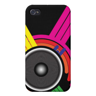 Retro Party Background iPhone 4 Cover