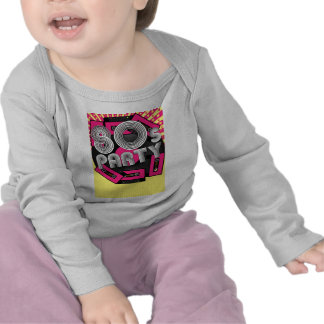 Retro Party Background T Shirts