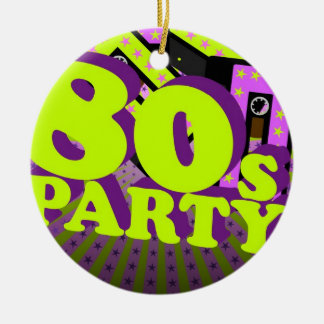 Retro Party Christmas Ornament