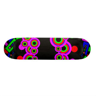 Retro Party Design 18.4 Cm Mini Skateboard Deck
