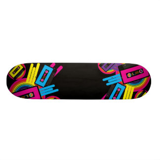 Retro Party Design Skate Boards