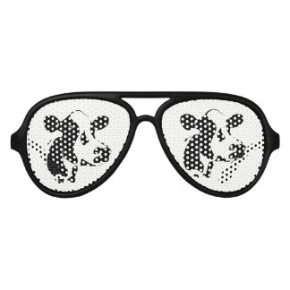 Retro Party Shades Tillamook Cow