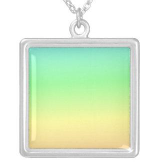 Retro Pastel Rainbow Heart Pendants