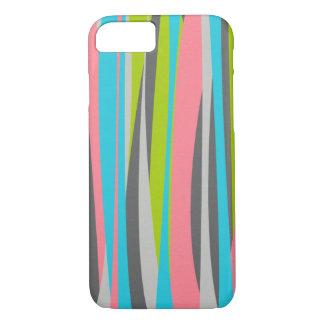 Retro Pastel Vertical Stripes iPhone 8/7 Case