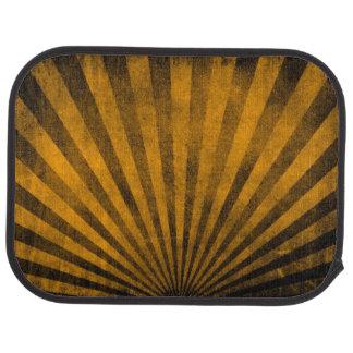 Retro pattern background car mat