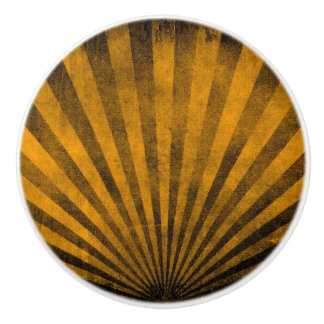 Retro pattern background ceramic knob