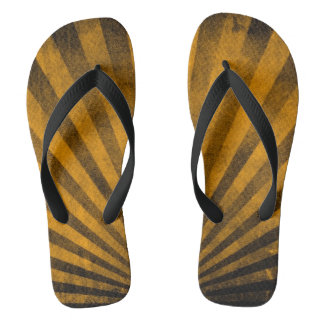 Retro pattern background flip flops