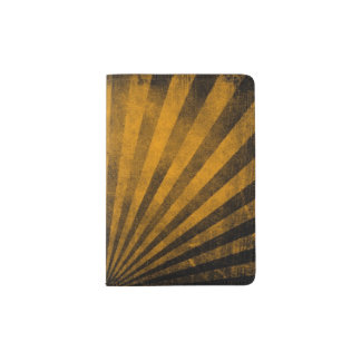 Retro pattern background passport holder
