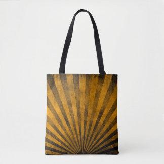 Retro pattern background tote bag