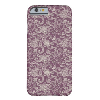 Retro pattern barely there iPhone 6 case