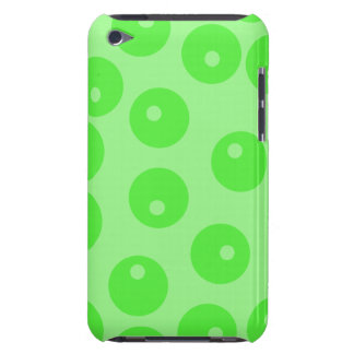 Retro pattern. Circle design in green. Barely There iPod Case