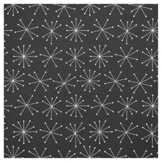 Retro Pattern Fabric, 1950's Fabric Style Abstract