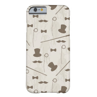 Retro pattern for man 2 barely there iPhone 6 case