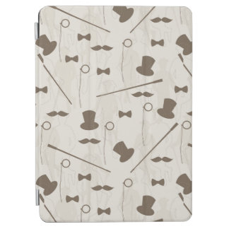 Retro pattern for man 2 iPad air cover