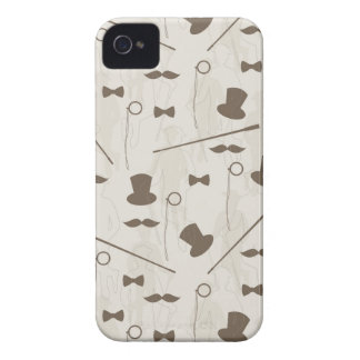 Retro pattern for man 2 iPhone 4 Case-Mate case