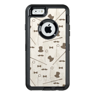 Retro pattern for man 2 OtterBox iPhone 6/6s case