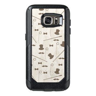 Retro pattern for man 2 OtterBox samsung galaxy s7 case