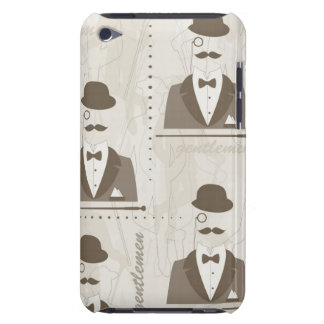 Retro pattern for man barely there iPod cases