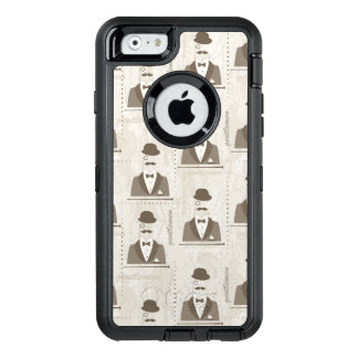 Retro pattern for man OtterBox iPhone 6/6s case