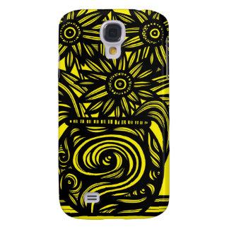 Retro Pattern Luxurious Sleek Galaxy S4 Case