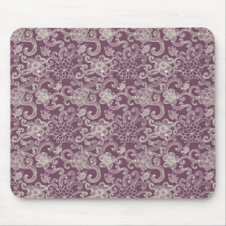 Retro pattern mouse pad