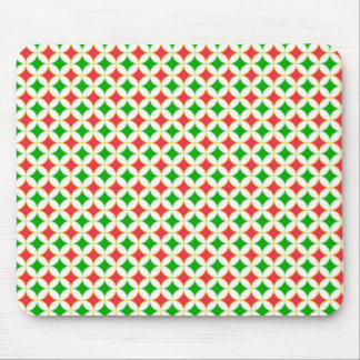 Retro Pattern Mouse Pad