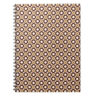 Retro pattern Photo Notebook (80 Pages B&W)