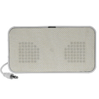 Retro pattern travelling speakers