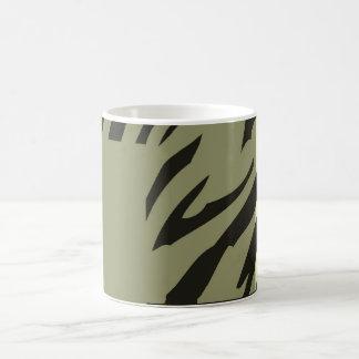 Retro Pattern Zebra Pop Art  2 Basic White Mug