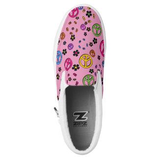 Retro PEace 2 Printed Shoes