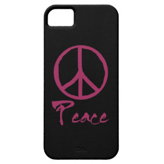 Retro Peace Sign Barely There iPhone 5 Case