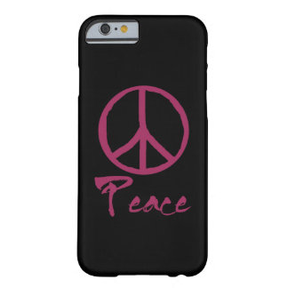 Retro Peace Sign Barely There iPhone 6 Case