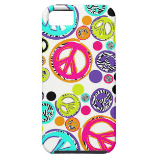 Retro Peace Sign Case For The iPhone 5