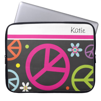 Retro Peace Sign  |   Laptop Sleeves