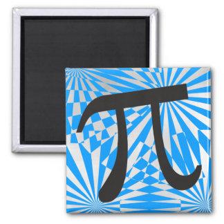 Retro Pi Square Magnet