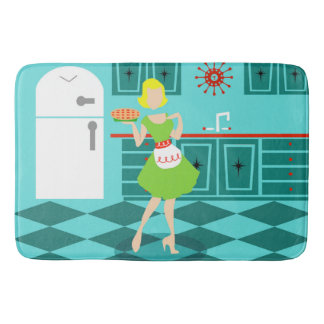 Retro Pie Bath Mat